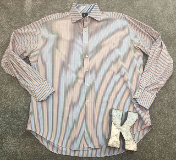 Tailorbyrd Button Down Long Sleeve Shirt Men's Sz XL*  | eBay