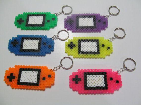 Gameboy Advance Console Keychain // video by LittleShoppeofPixels