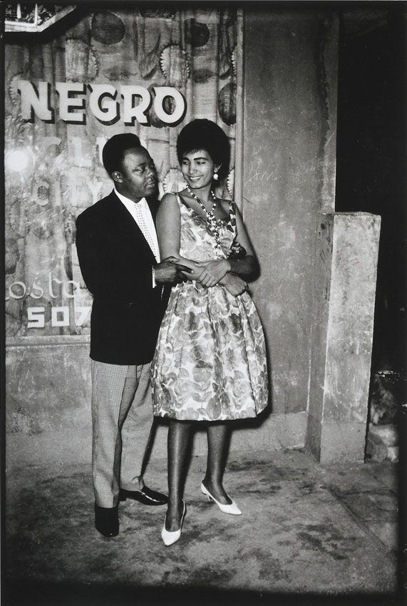"""""""Couple au Negro Dancing"""". Kinshasa, c. 1970, Jean Depara"""