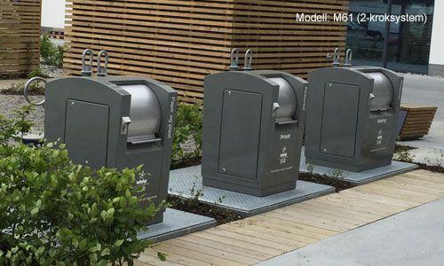 Det er installert Metro containere i hele Norge. Totalt finner man ca 30.000 Metro i bruk i Europa. Løsningen har vist seg driftssikker og svært praktisk i bruk i det norske klimaet.