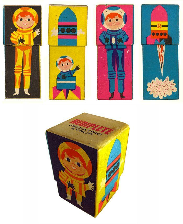 Vintage Packaging: Rediplete