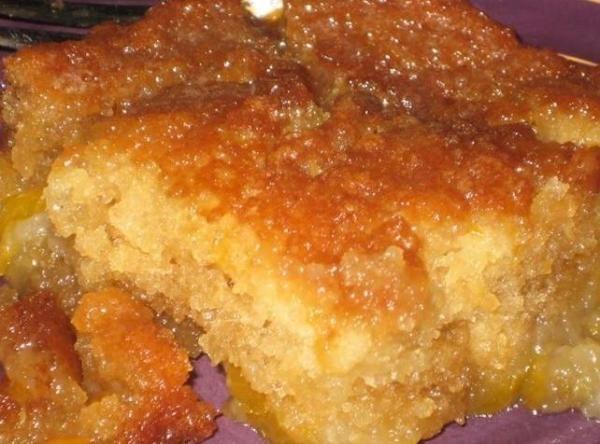 Easy Mandarin Orange Dump Cake
