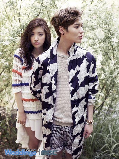 Taemin and Son Na Eun