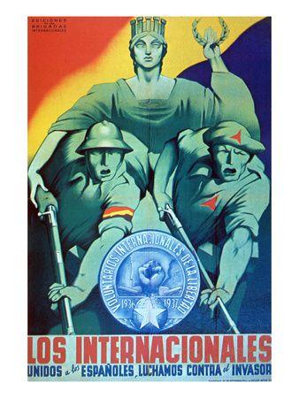 The International Brigades in Spain 1936