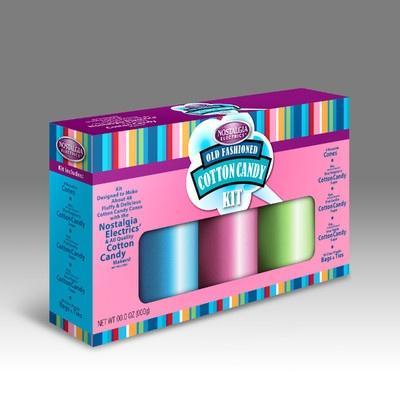 Nostalgia Electrics Flossing Sugar Cotton Candy Kit | Wayfair