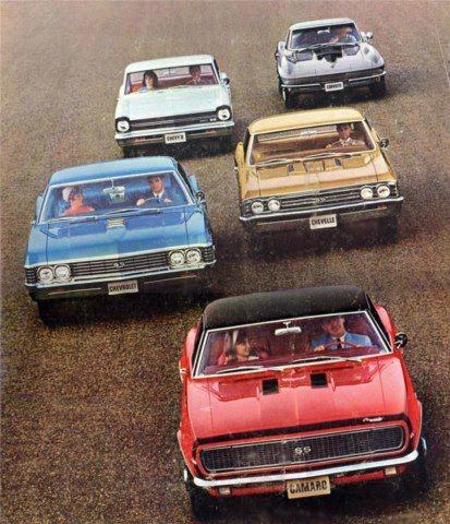 1967 Chevy Lineup-I had a 1967 Chevy Impala Mariner Blue 2 dr hardtop