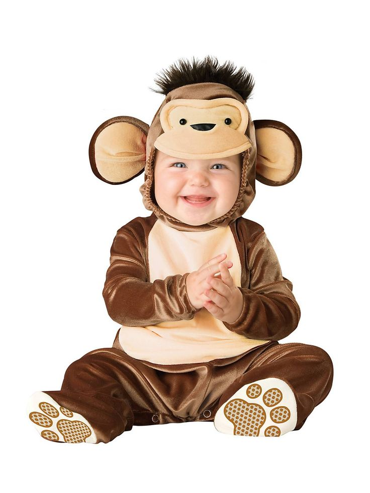 Baby Mischievous Monkey Costume | Wholesale Animal Costumes for Infants & Toddlers