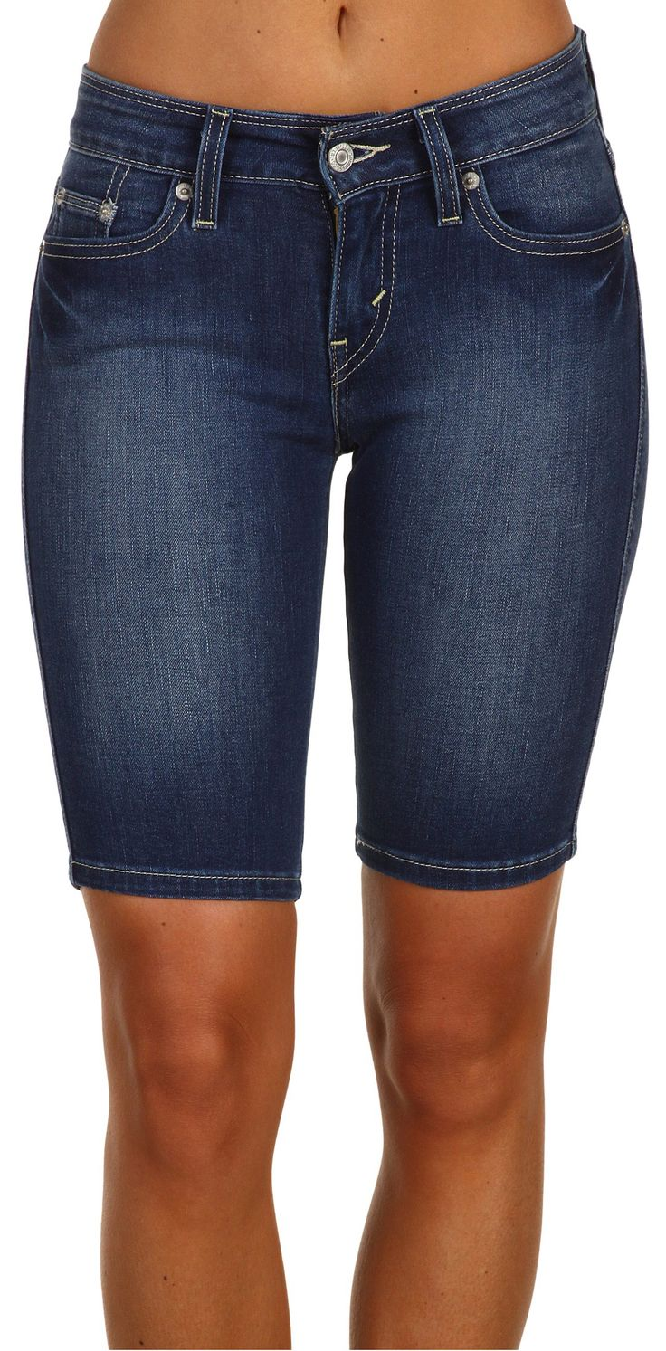 I'll never understand the love for short shorts, these are my favorite! Levi's® Juniors Bermuda Short