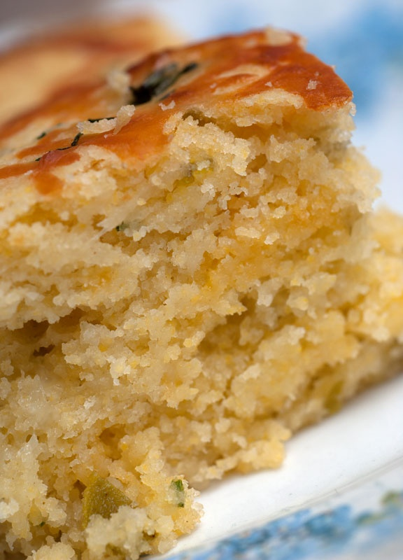 Jalapeno Cheddar Cornbread ~ YUM... Not Your Mama's Recipe!