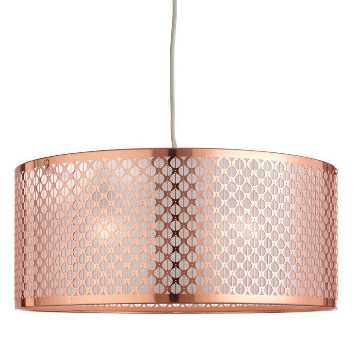 Riley Pendant Light Shade Copper