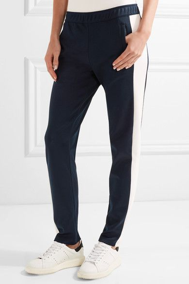 Tory Sport - Stretch-piqué Track Pants - Midnight blue - x large
