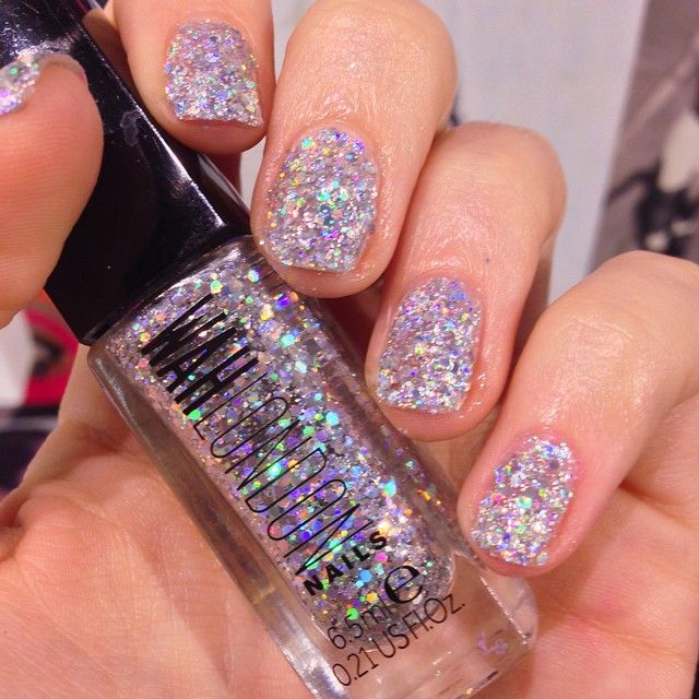 Our Wahpolishoftheweek Is The Gorgeously Glistening Schragerstouch Cause You Gotta Holographic Glitterglitter Nail Polishnail