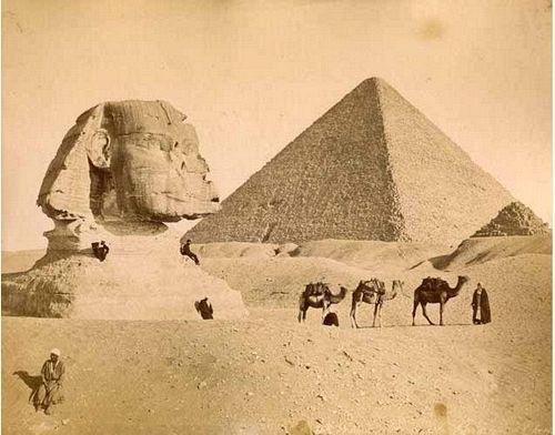 Sfenks ve Büyük Pramit, 1880ler, Zangaki Kardeşler…