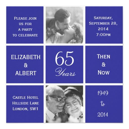 Gifts For 65th Wedding Anniversary: 1000+ Images About 65th Anniversary Mom N Dad On Pinterest