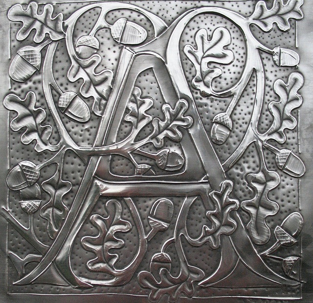 Letter A by Archives Crafts