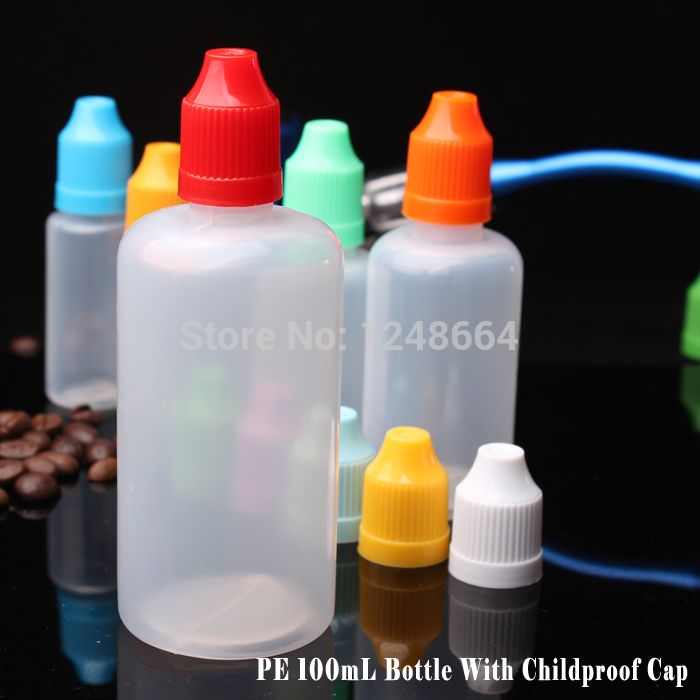 2014 30000PCS 100ML LDPE childproof and tamper cap dropper bottle tamper evident plastic cap plastic squeeze bottle manufacturer