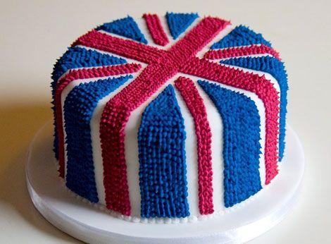 Union Jack cake    http://lamarmitedecathy.com/wp-content/uploads/2011/04/Royal-wedding-cake.jpg