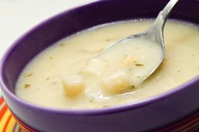 Sopa creme de aspargos