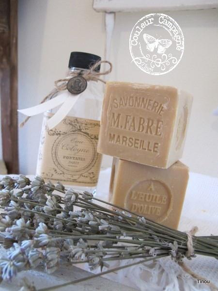 lavande et savons de Marseille