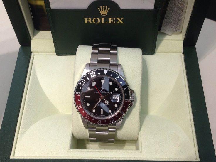 Rolex GMT Master II - Ref. 16710 con scatola e garanzia originale Rolex. Come nuovo, una vera chicca per gli amanti degli orologi - Gioielleria Orolive