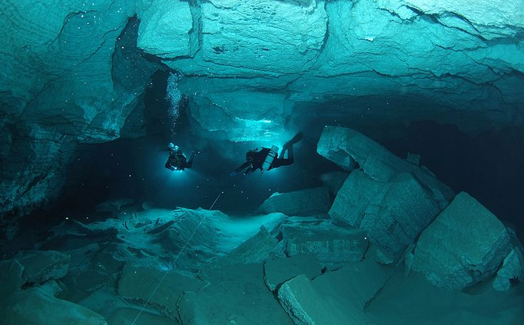 Ordinskaya cave. Russia. Perm. Ordinskaya Cave is the most extended underwater cave in Russia, the second in Eurasia, with regards to length, and the world's greatest gypsum cave