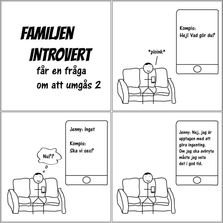 får en fråga om att umgås 2 | Familjen Introvert