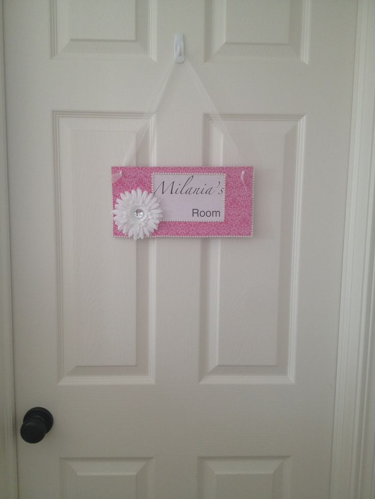 diy bedroom door sign my home and projects pinterest signs doors and diy bedroom. Black Bedroom Furniture Sets. Home Design Ideas