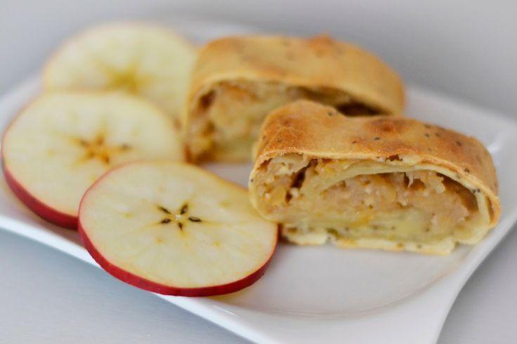 Jablečný štrůdl * quinoa * vegan * apple * strudel