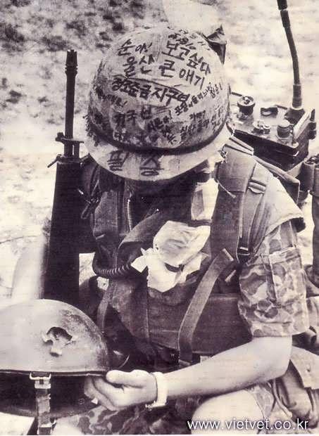 Vietnam War graffiti