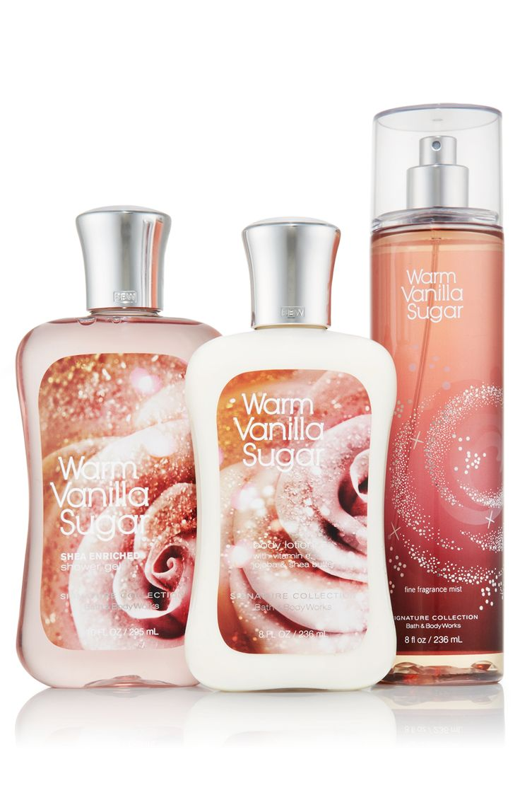 Warm Vanilla Sugar Ultimate Fragrance Experience - Bath & Body Works