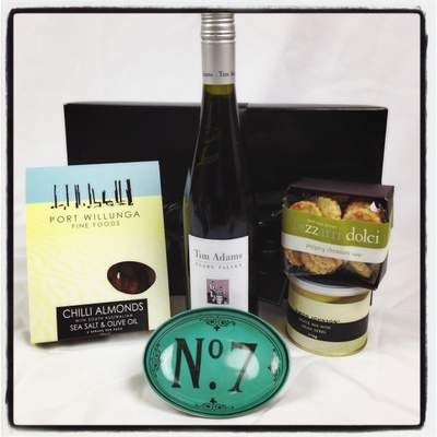 Tim Adams South Australian Pinot Gris and savoury nibbles, give your Dad something to rave about this Father's Day! Click here to secure your gift today at $88 http://www.justcorporate.net.au/gifts/all-gifts/tim-adams-savoury-delight/