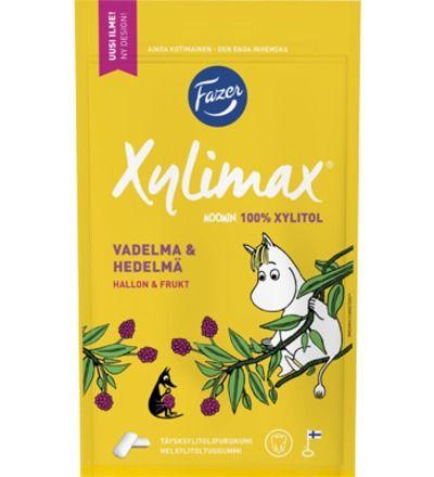 Fazer Xylimax Muumi Vadelma-Hedelmä - 2,55 e