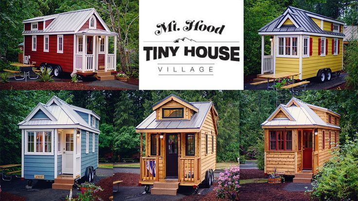 Enjoy this little teaser of the Mt Hood Tiny House Village located an hour outside of Portland Oregon. The village has five Tumbleweed tiny houses setup arou...