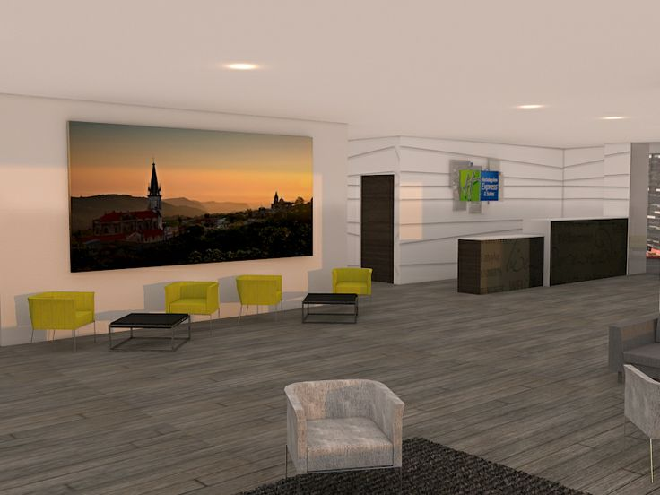 Lobby Holiday Inn Express & Suites Angelopolis