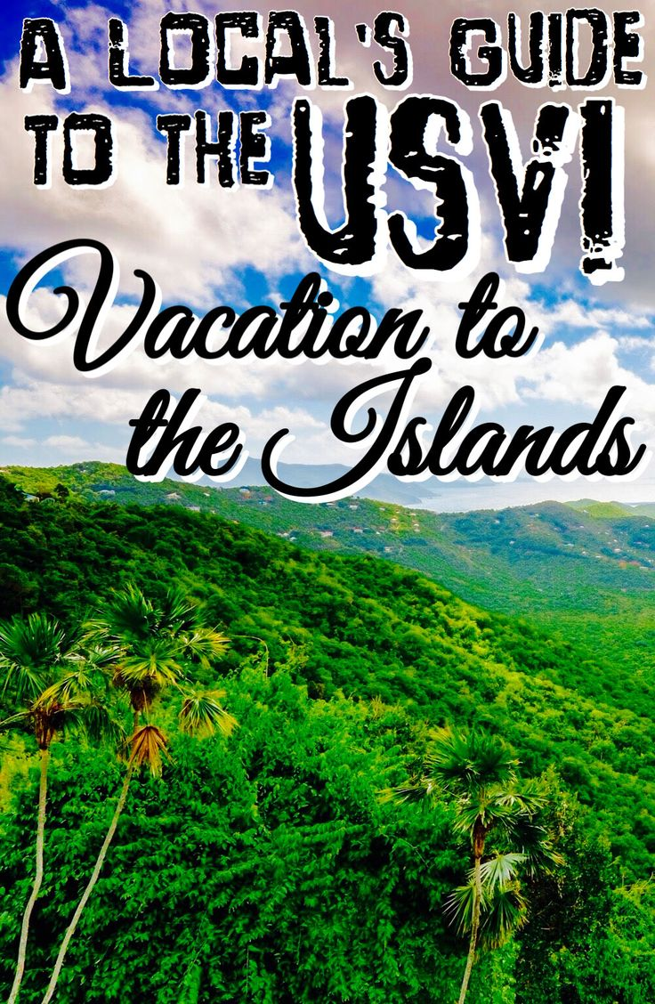 "A Local's Guide to the US Virgin Islands: Vacation to the Islands- I'll be your local guide through the highlights of each of the U.S. Virgin Islands, proving why ""America's Paradise"" is where your next vacation should be! #CaribbaConnect"