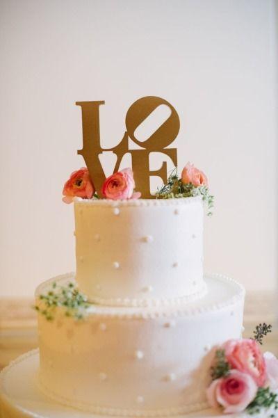 Dotted cake: http://www.stylemepretty.com/little-black-book-blog/2014/11/28/romantic-blush-philadelphia-wedding/ | Photography: Paul Francis - http://paulfphotography.com/