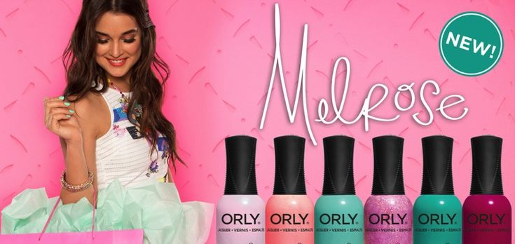 Η #ORLY έχει δημιουργήσει για την ανοιξιάτικη σεζόν την πιο λουλουδένια παλέτα και σας προσκαλεί να την δοκιμάσετε. Η έμπνευση της συλλογής προέρχεται από, το Λος Άντζελες, την Μέκκα των πιο διάσημων, funky indie αγορών.  Shop online: http://bit.ly/Melrose_Orly.