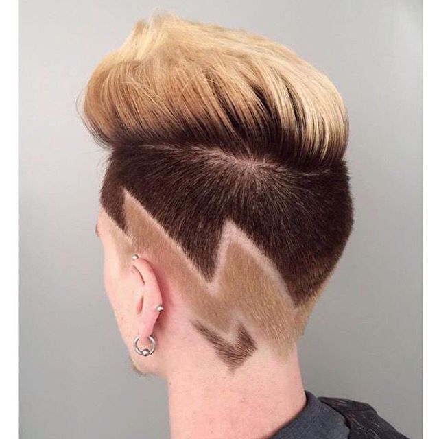 Best hair tattoo images on pinterest cut