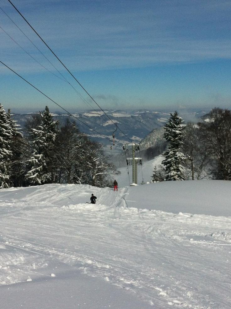 9. Feb 2013 - Balmberg - Skilift Röti