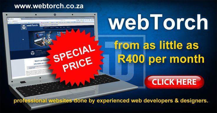 Professional website design and development starting from R400 a month. From one-page websites to complex ecommerce solutions, we have the expertise and products to deliver cost effective website solutions for small businesses.