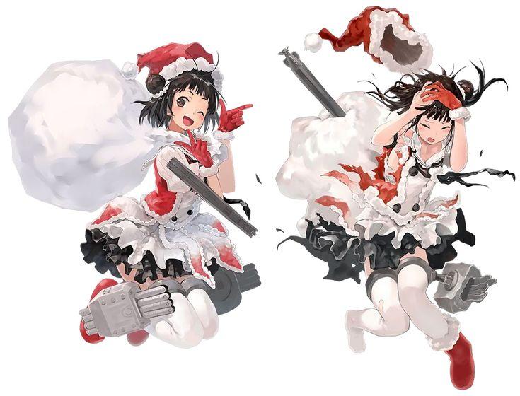 【艦これ】公式がクリスマス仕様に!!サンタ姿の艦娘 創作イラストまとめてみた!!!:ぽんこつによる『世迷言日記』 - ブロマガ