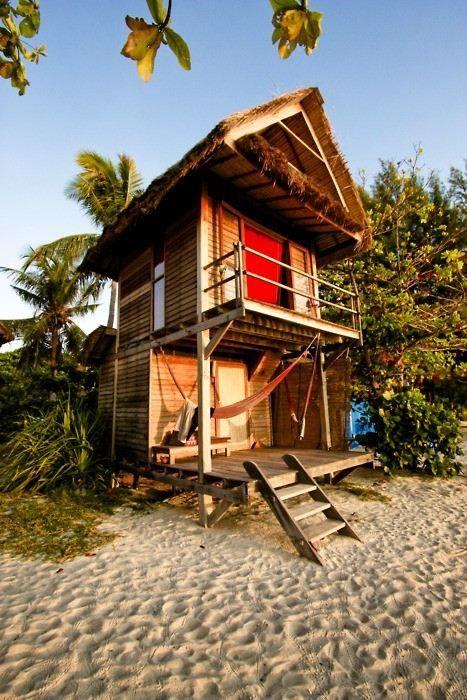 the family's secret beach house - I want one