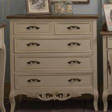 Chateau 2 Over 3 Drawer Chest