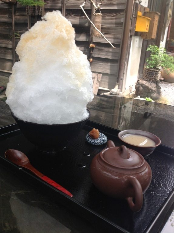 Shaved ice  #japan #summer