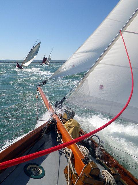 Boating | Sailing | Rough sea!