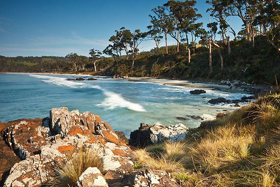 Roaring Beach, Dover Tasmania. Photo by Chris Cobern