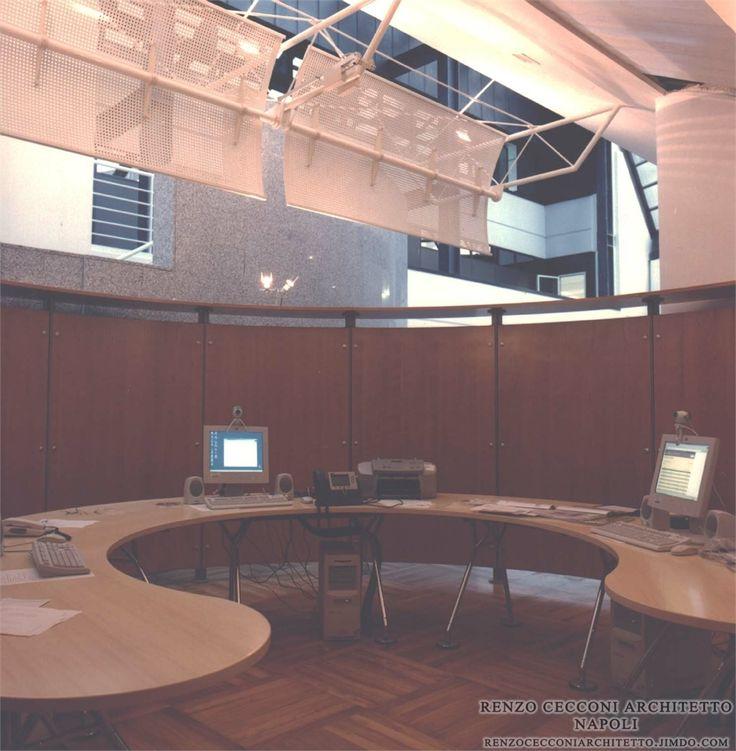 Incubatori Telecom Italia - #napoli #home #interior #design # furniture #project #architecture #architect #architettura #interiors #arredo #arredamento #edilizia #office #department #agency #ufficio