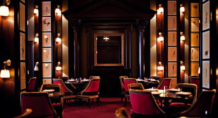 NoMad, a friend's new hotel & restaurant in NYC. Interiors designed by Jacques Garcia, Chef Daniel Humm in charge of deliciousness, with restaurateur, Will Guidara making everything run smoothly. Can't wait to head back east and visit this beautiful place.