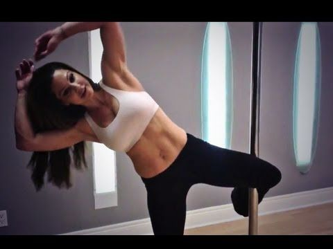 Pole Dance Workout For Six Pack ABS - YouTube