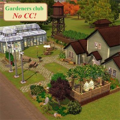 Gardeners club by EgozoyaSims3 - The Exchange - Community - The Sims 3